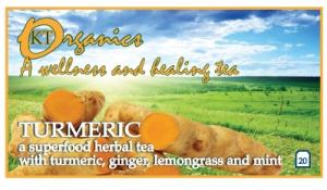 Turmeric tea a new organic blend from Koala Tea Company