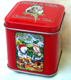 Christmas 2016 Koala Tea-tin