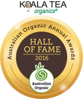 Australian Organic Awards Hall of Fame medal 2016