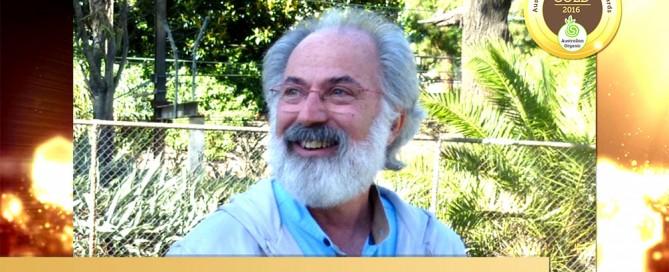 Australian Organic Awards - Howard Rubin - Hall of Fame medal 2016