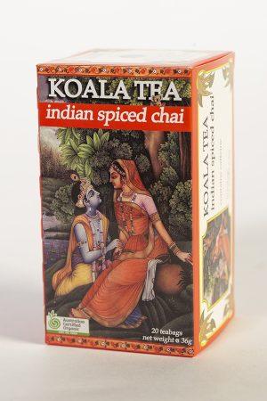 Indian Spiced Chai Tea Certified Organic made by Koala Tea Company