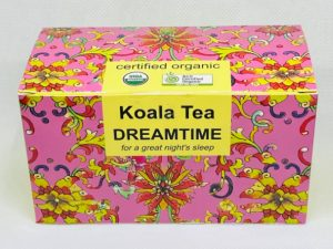 Dreamtime Certified Organic Tea by Koala Tea Company - Special Pack design
