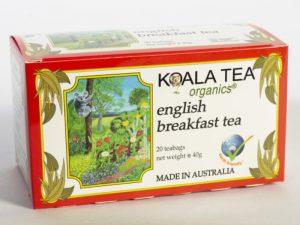 English Breakfast Tea Certified Organic made by Koala Tea Company