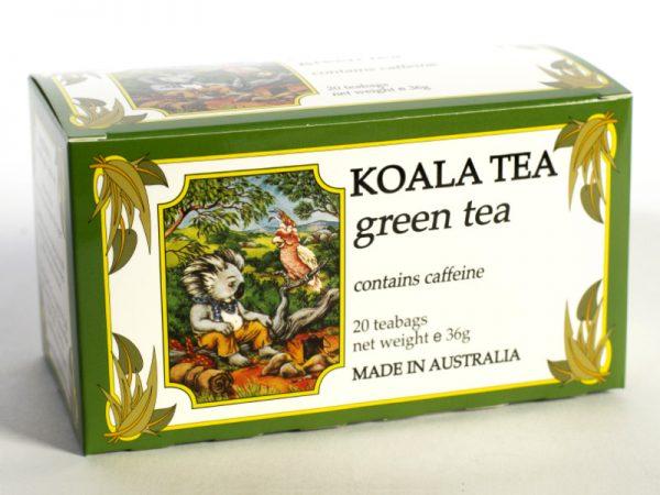 Green Tea Certified Organic made by Koala Tea Company