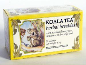 Herbal Breakfast Certified Organic Tea by Koala Tea Company