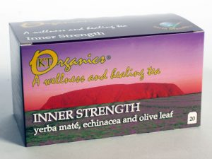 Inner Strength Certified Organic Tea made by Koala Tea Company