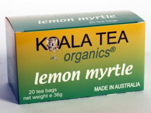 Lemon Myrtle Certified Organic Tea made by Koala Tea Company
