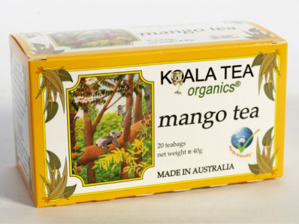 Mango Tea Certified Organic made by Koala Tea Company