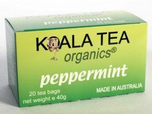 Peppermint Tea Certified Organic made by Koala Tea Company