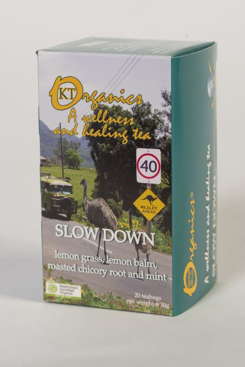 KT-SLOW DOWN Organic Tea