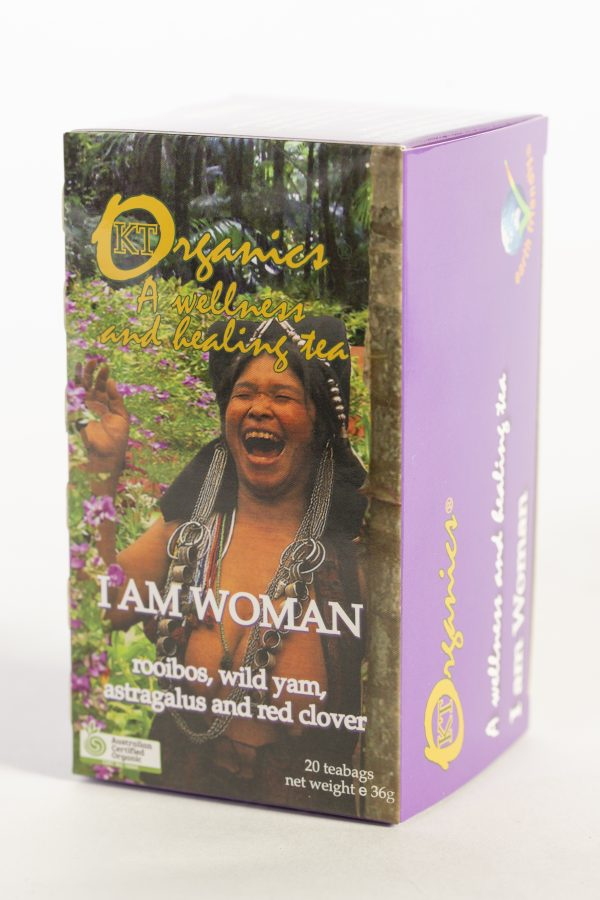 KT-I AM WOMAN Organic Tea
