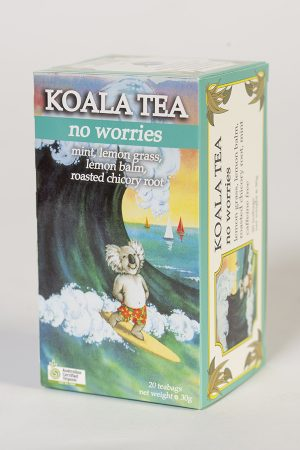 No Worries Certified Organic Tea by Koala Tea Company Original Pack