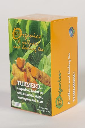 Turmeric Certified Organic Tea by Koala Tea Company - Original Pack design